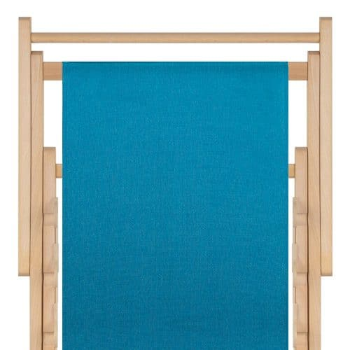 strandstoel polyester aquablue 87