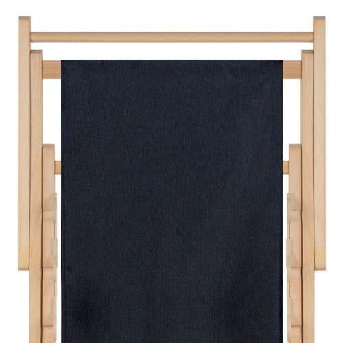 strandstoel polyester black 10