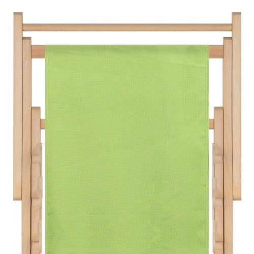 strandstoel polyester light green