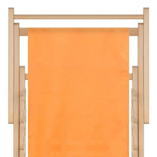 strandstoel polyester orange