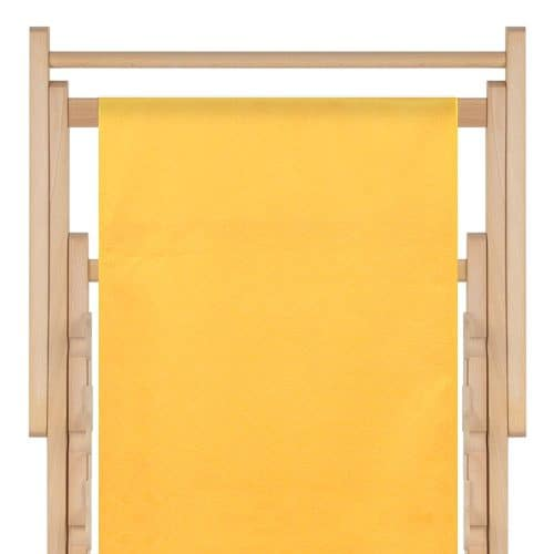 strandstoel polyester sunflower yellow