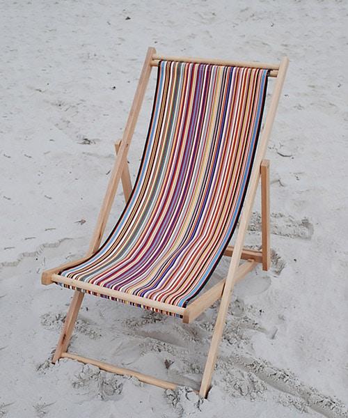 transat de plage toiles du soleil
