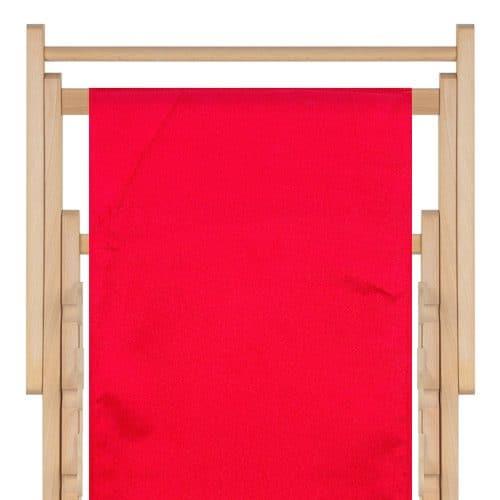 strandstoel polyester tomato red