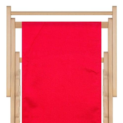 transat polyester tomato red