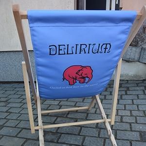 bedrukte strandstoel delirium