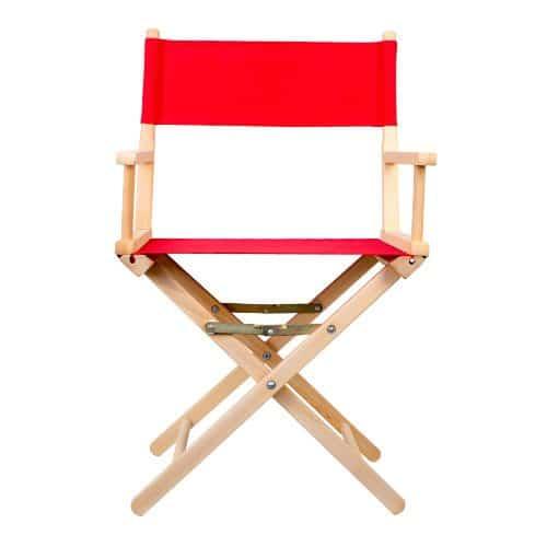 regisseurstoel rood