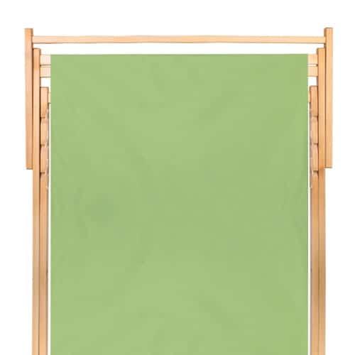 transat en bois  double vert