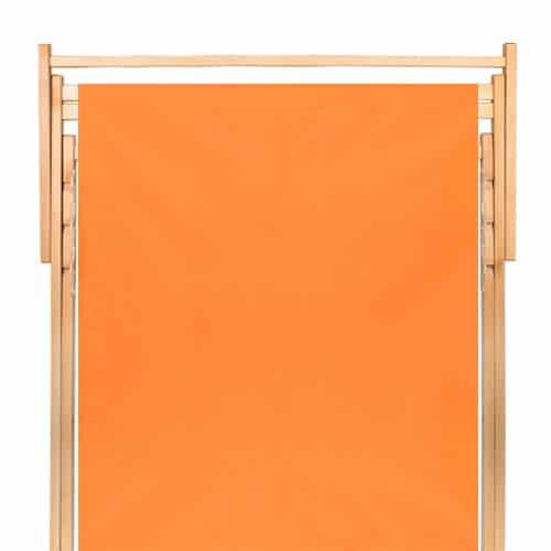 dubbele strandstoel oranje
