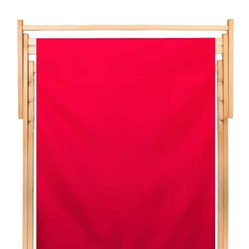 dubbele strandstoel polyester rood