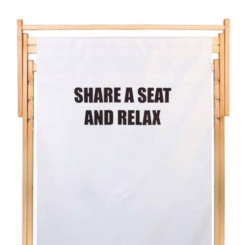 dubbele strandstoel