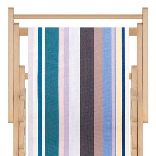 strandstoel stof sunbrella bleu lavande