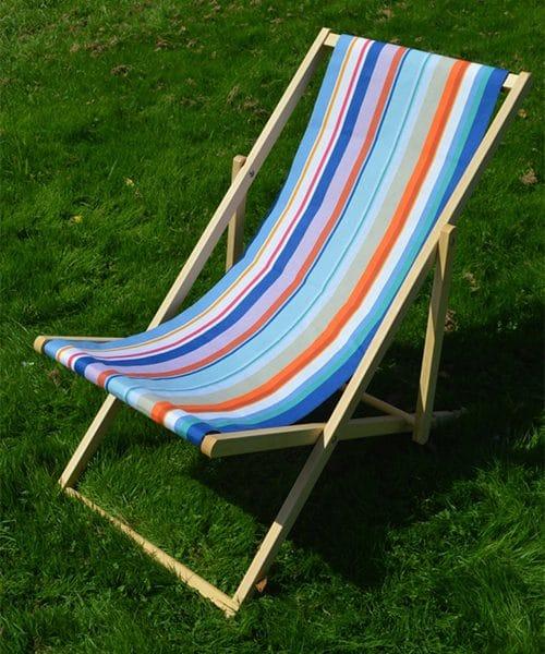 stof katoen strandstoel