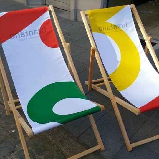 strandstoel bedrukt digitaal brantano