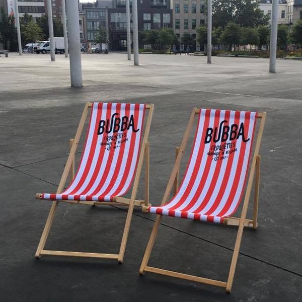 strandstoel bedrukt digitaal