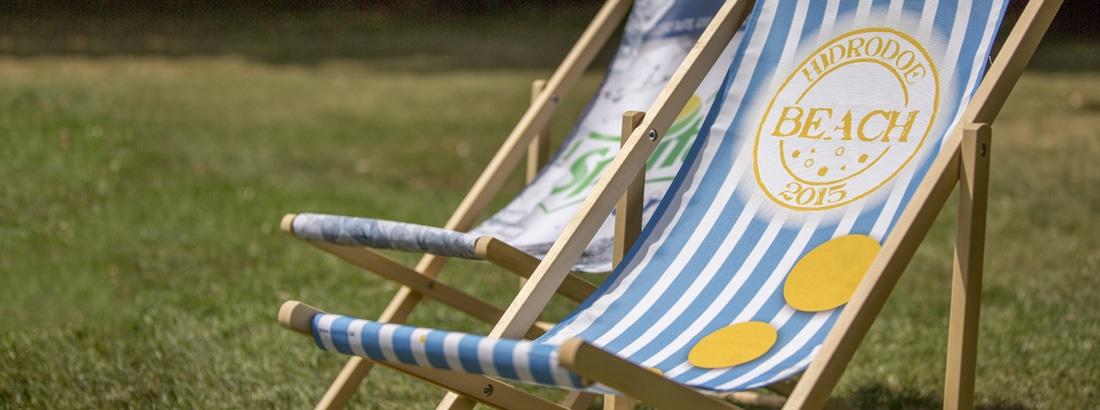 strandstoelen bedrukt