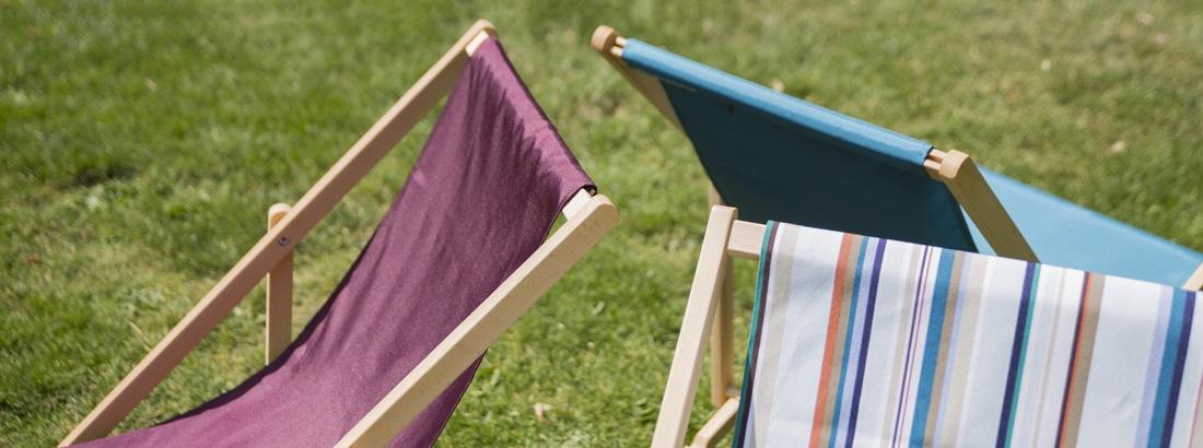 strandstoelen detail